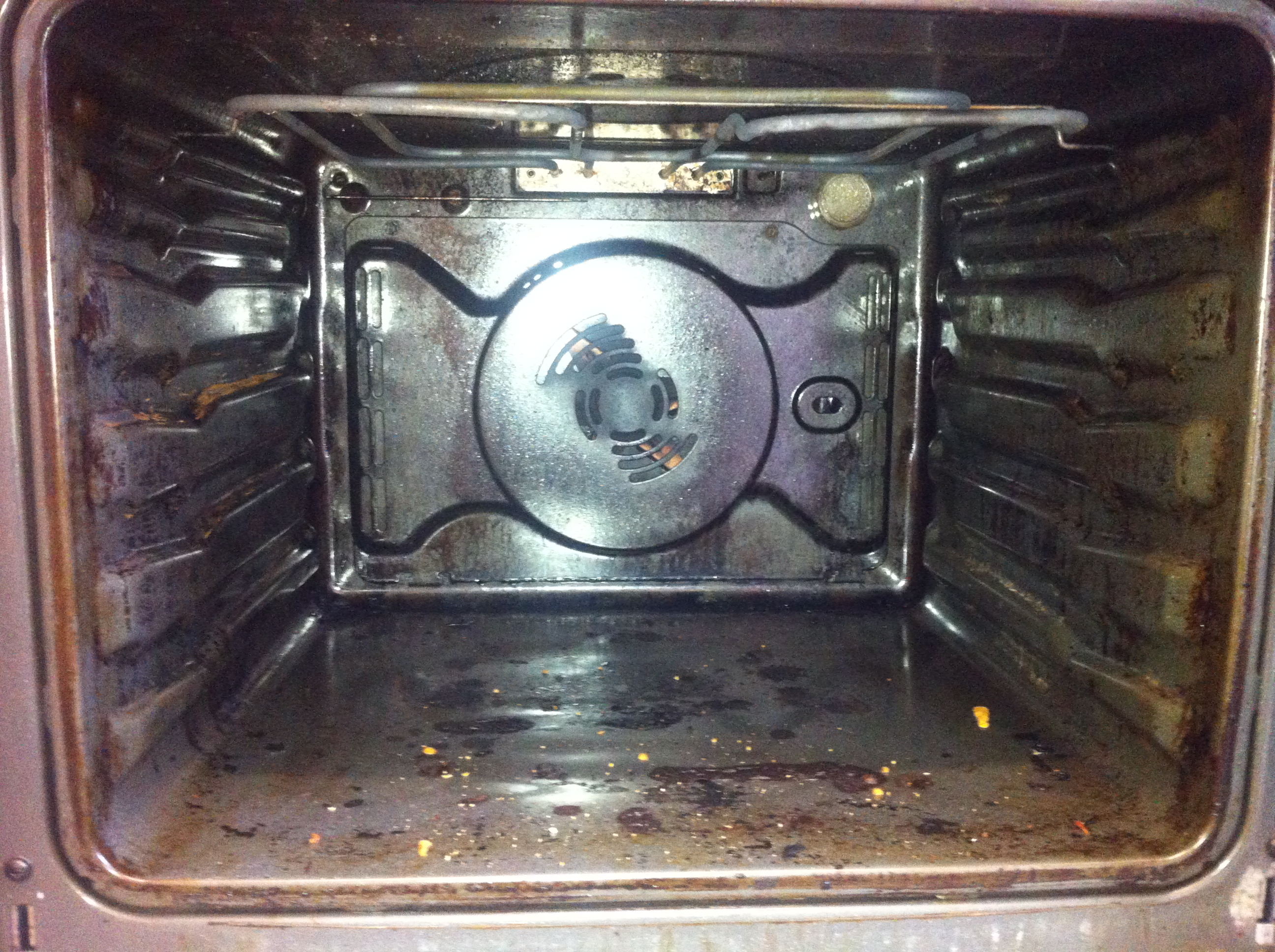 Oven Cleaner Newquay Before Pic